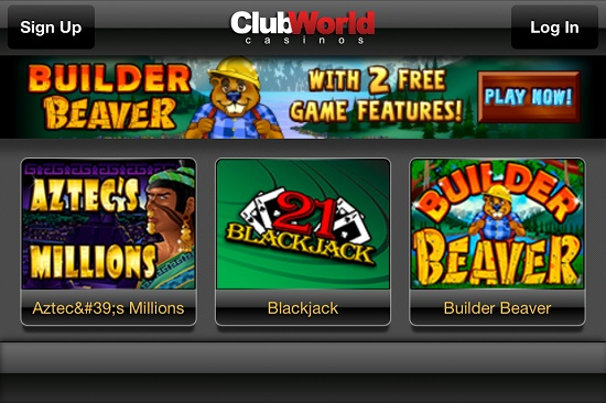 club world casino flash